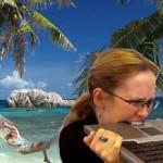 Stress vacanza donna